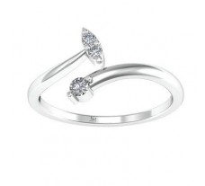 Natural Diamond Designer Ring 0.08 CT / 1.80 gm Gold