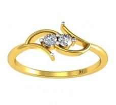 Natural Diamond Designer Ring 0.10 CT / 1.70 gm Gold
