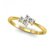 Natural Diamond Designer Ring 0.12 CT / 1.64 gm Gold
