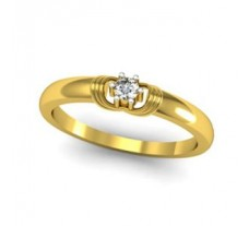 Natural Diamond Ring 0.07 CT / 2.50 gm Gold