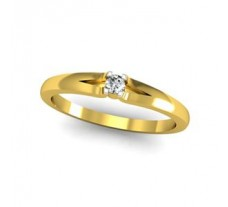 Natural Diamond Ring 0.06 CT / 2.24 gm Gold