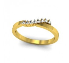 Natural Diamond Ring 0.08 CT / 2.00 gm Gold