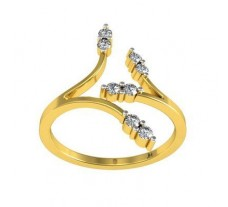 Natural Diamond Designer Ring 0.20 CT / 2.70 gm Gold