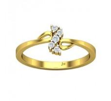 Natural Diamond Designer Ring 0.11 CT / 2.61 gm Gold