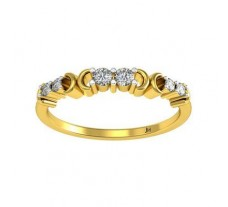 Natural Diamond Designer Ring 0.16 CT / 2.28 gm Gold