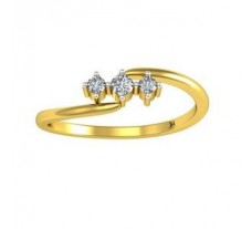 Natural Diamond Designer Ring 0.08 CT / 2.10 gm Gold