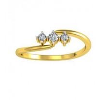 Natural Diamond Designer Ring 0.08 CT / 2.10 gm Gold
