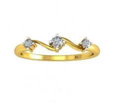 Natural Diamond Designer Ring 0.09 CT / 2.20 gm Gold