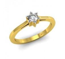 Natural Diamond Designer Ring 0.15 CT / 2.49 gm Gold