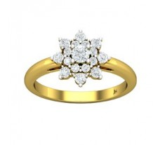 Natural Diamond Ring 0.58 CT / 3.35 gm Gold