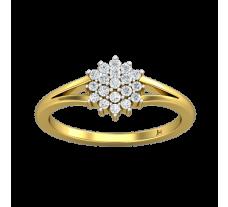 Natural Diamond Ring 0.21 CT / 2.25 gm Gold
