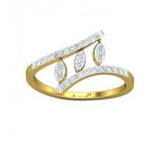 Natural Diamond Ring 0.31 CT / 2.06 gm Gold