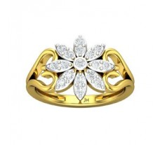 Natural Diamond Ring 0.42 CT / 3.75 gm Gold