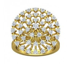 Natural Diamond Ring 1.30 CT / 11.00 gm Gold