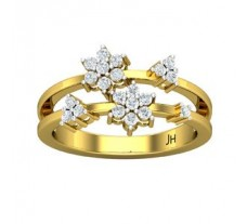 Natural Diamond Ring 0.38 CT / 3.60 gm Gold