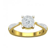 Natural Diamond Ring 0.50 CT / 2.95 gm Gold