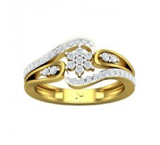 Natural Diamond Designer Ring 0.57 CT / 4.25 gm Gold
