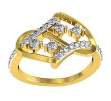 Diamond Ring 0.30 CT / 3.26 gm Gold