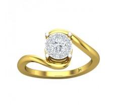 Natural Diamond Ring 0.36 CT / 2.65 gm Gold