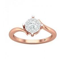 Natural Diamond Ring 0.36 CT / 2.30 gm Gold