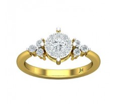 Natural Diamond Ring 0.57 CT / 2.84 gm Gold