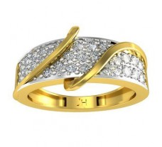 Natural Diamond Ring 0.45 CT / 4.32 gm Gold
