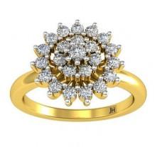 Natural Diamond Ring 0.47 CT / 2.50 gm Gold