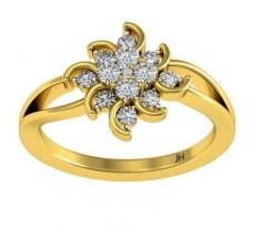Natural Diamond Ring 0.48 CT / 3.25 gm Gold