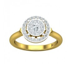 Natural Diamond Ring 0.56 CT / 3.91 gm Gold