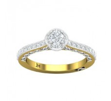 Natural Diamond Ring 0.638 CT / 3.52 gm Gold