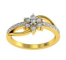Natural Diamond Ring 0.295 CT / 2.80 gm Gold