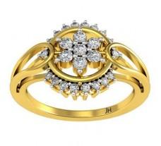 Natural Diamond Ring 0.319 CT / 3.45 gm Gold