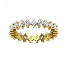 Natural Diamond Ring 1.03 CT / 3.20 gm Gold