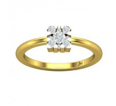 Natural Diamond Ring 0.27 CT / 2.88 gm Gold