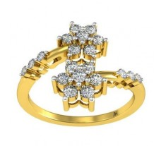 Natural Diamond Ring 0.44 CT / 2.97 gm Gold