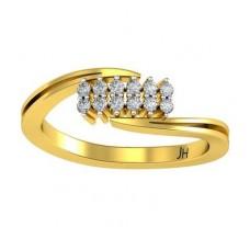 Natural Diamond Ring 0.18 CT / 2.88 gm Gold