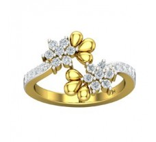 Natural Diamond Ring 0.47 CT / 3.60 gm Gold