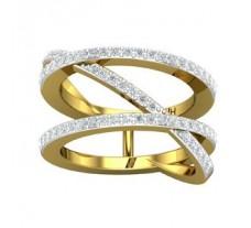 Natural Diamond Ring 0.63 CT / 7.55 gm Gold