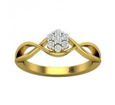 Natural Diamond Ring 0.175 CT / 3.50 gm Gold