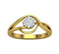 Natural Diamond Ring 0.24 CT / 3.50 gm Gold