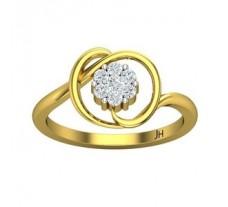 Natural Diamond Ring 0.24 CT / 3.00 gm Gold