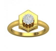 Natural Diamond Ring 0.24 CT / 4.20 gm Gold