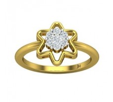 Natural Diamond Ring 0.24 CT / 3.20 gm Gold