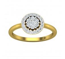 Natural Diamond Ring 0.41 CT / 3.25 gm Gold