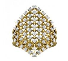 Natural Diamond Ring 0.87 CT / 7.50 gm Gold