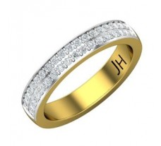 Natural Diamond Band 0.36 CT / 5.40 gm Gold
