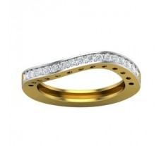 Natural Diamond Ring 0.34 CT / 4.25 gm Gold