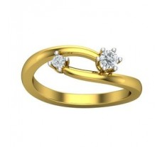 Natural Diamond Ring 0.19 CT / 3.55 gm Gold