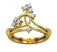 Natural Diamond Ring 0.20 CT / 4.20 gm Gold