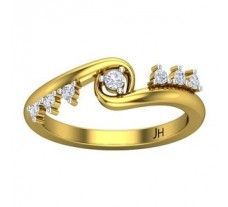 Natural Diamond Ring 0.20 CT / 3.50 gm Gold